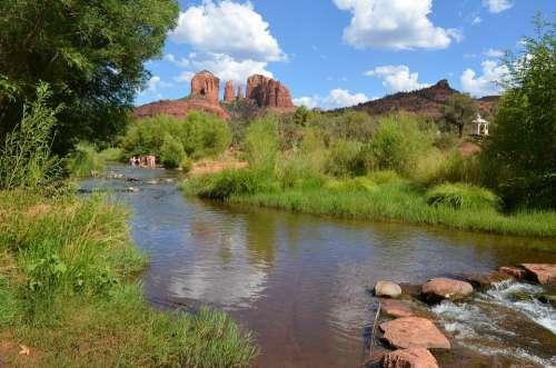 Sedona Arizona Cathedral Rock Southwest Landscape
