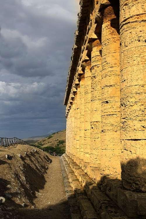 Segesta Sicily Temple