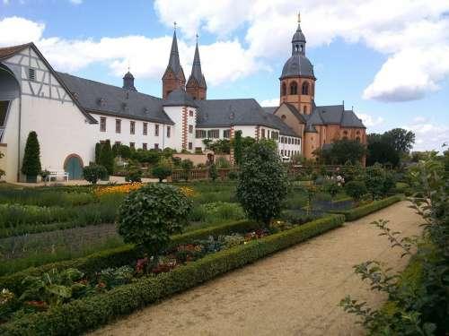 Seligenstadt Monastery Klosterhof