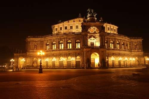 Semper Opera House Dresden Opera Opera House