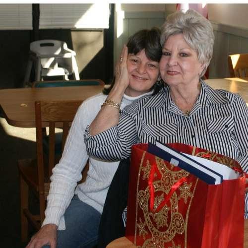 Seniors Elderly Daughter Mom Family People Women