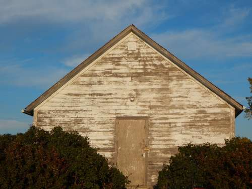 Shack Rustic Wood Country Rural Saskatchewan Shed