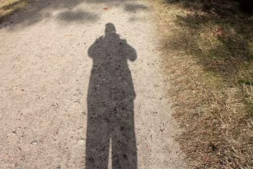 Shadow Hispanic Silhouette Man