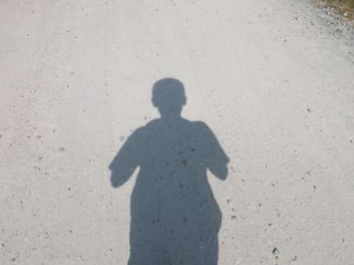 Shadow Path Boy Silhouette Person Profile Outline