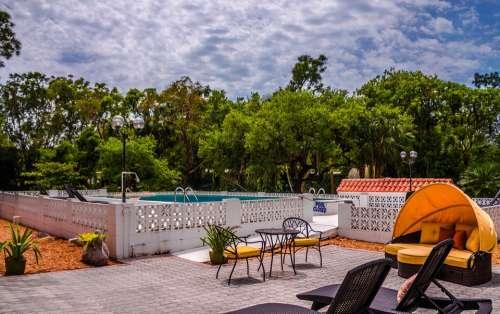 Shangri-La Spa Hotel Bonita Springs Pool Florida