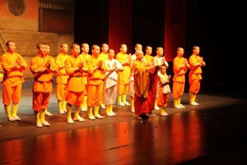 Shaolin Monks Martial Arts
