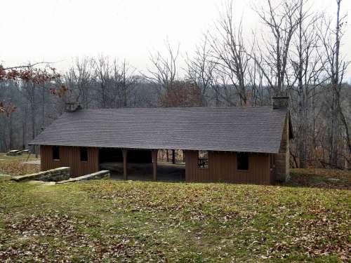 Shelter House Beanblossom Lake Morgan Monroe