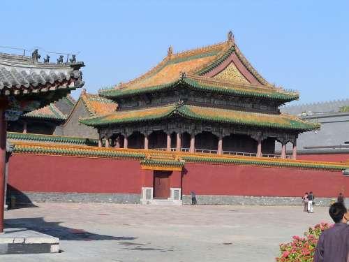 Shenyang Liaoning China Temple Palace Famous