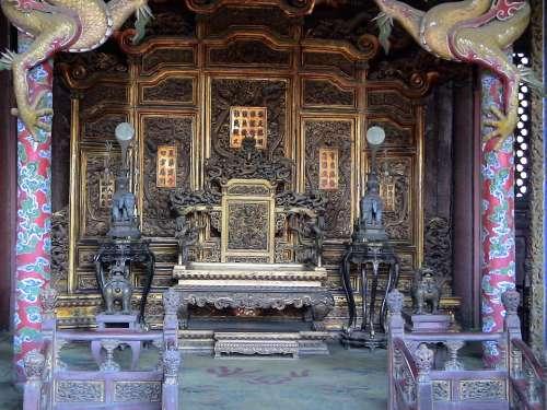 Shenyang Liaoning China 2006 Palace Famous Throne