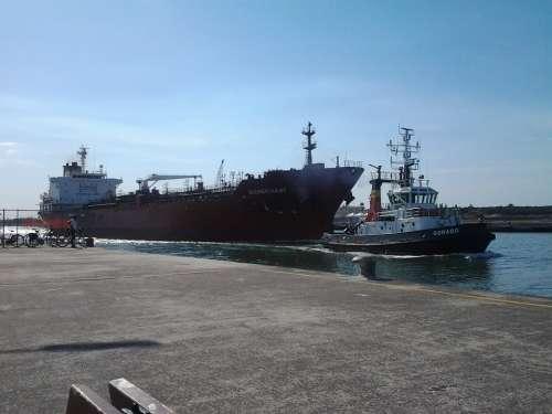 Ship Maritime Shuttle Port Coast Ships Dock