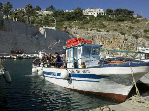 Ship Sea Greek Fisher Greece Summer Water