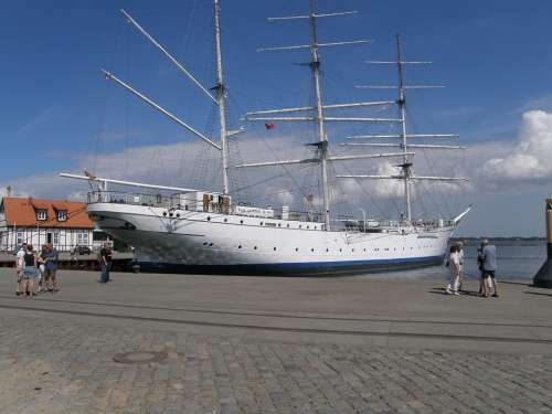 Ship Gorch Fock Training Ship Baltic Sea Warship