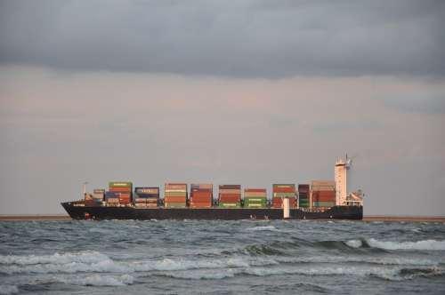Ship Cargo Ship Portable Sea Transport