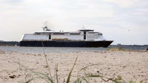Ship Ferry Waterway Baltic Sea Sea Water Coast