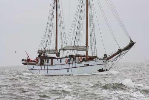 Ship Sea Boat Water