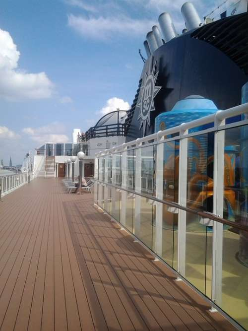 Ship Deck Ship Cruise Travel Deck