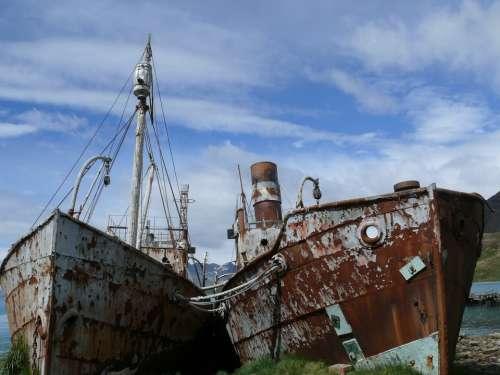 Ship Wreck Southern Ocean Antarctica Whalers