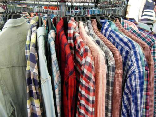 Shirts Clothes Stand Offer Summer Sale Sale