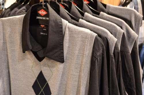Shirts Exhibition Shop Shopping Shelf Buy