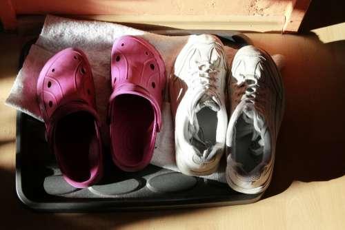 Shoes Shoe Sneakers Sunlight Light Rubber