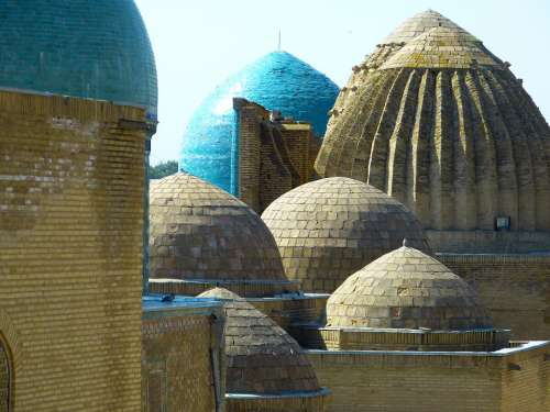Shohizinda Necropolis Samarkand Uzbekistan