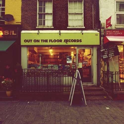 Shop Records Vintage Grunge Urban Street London