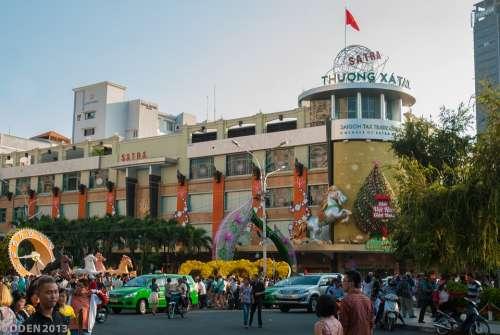 Shopping Mall Center City City Saigon Vietnam