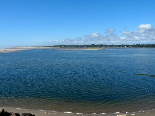 Shoreline Ocean Coast Water Sea Beautiful