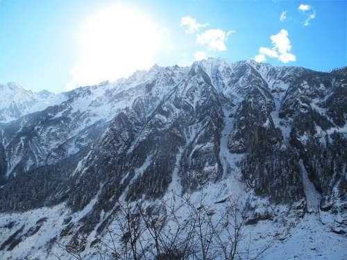 Sichuan Luding Hailuogou Gongga Mountain Glacier