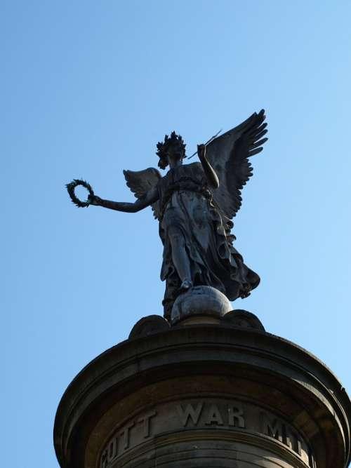 Siegburg Germany Siegessäule Angel Sky Pillar