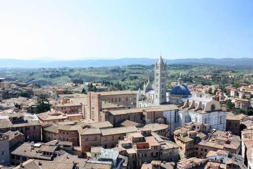 Siena Architecture Tuscany