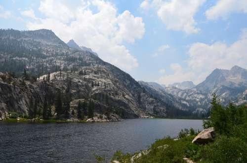 Sierra Nevada Landscape Scenery Lake