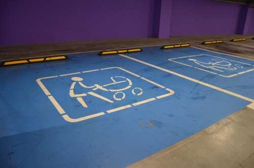 Sign Parking Stroller Child Underground Parking