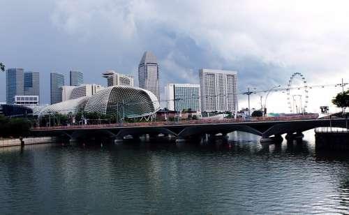 Singapore Metals Steels City Place Buildings