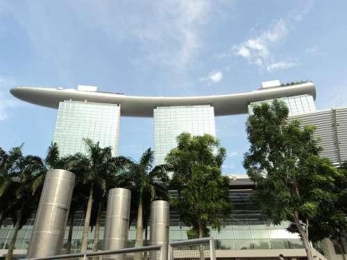 Singapore Travel Architecture Structure Building