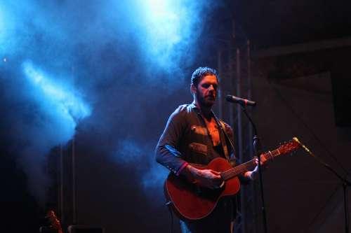 Singer Rock Show Tour Musician Lights Mood