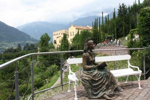 Sissi Castle Park South Tyrol Schlossgarten