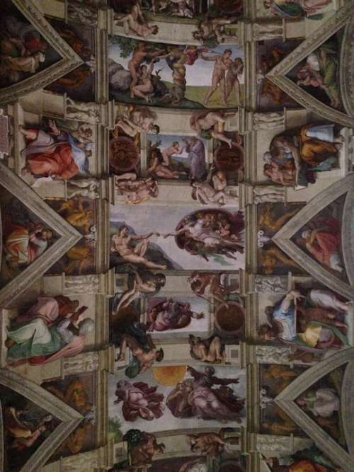 Sistine Chapel Miguel Angelo Ceiling