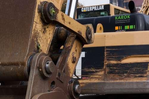 Site Excavators Tracked Vehicles Hydraulic