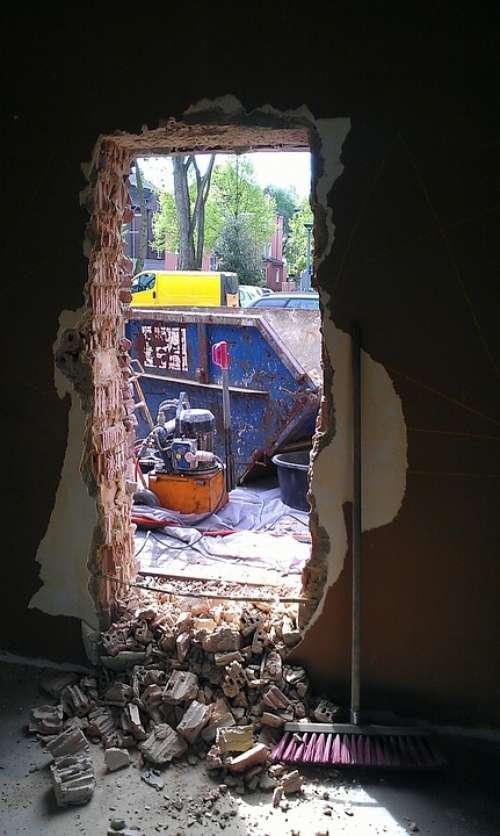 Site Door Debris