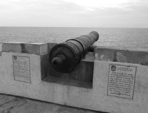 Sitges Europe Architecture Spain Cannon Ancient