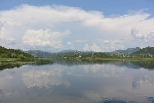 Skadar Lake Montenegro Journey Cruise Water