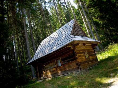 Skanzen Open-Air Museum Shed Drevenice