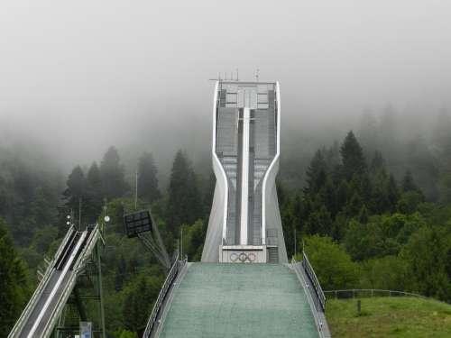 Ski Jump Germany Bavaria