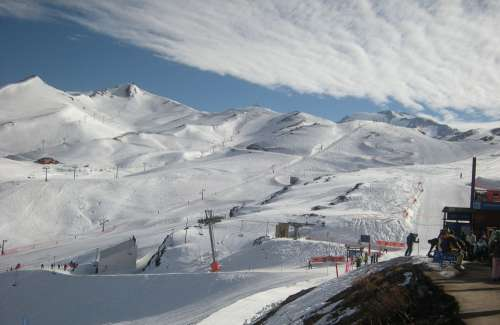 Ski Resort Ski Winter Sports Slope Piste Ski Piste