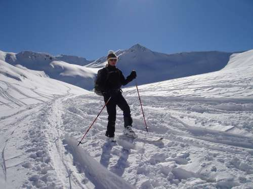 Backcountry Skiiing Ski Touring Courses Skiing
