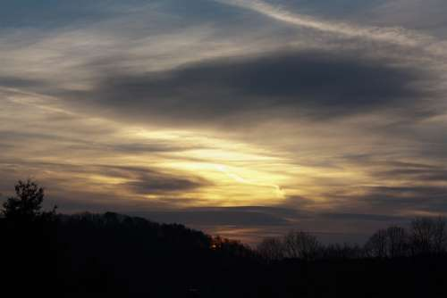 Sky Sunrise Yellow