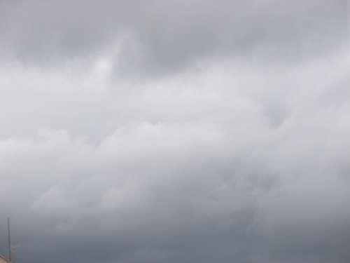 Sky Clouds Heaven Grey