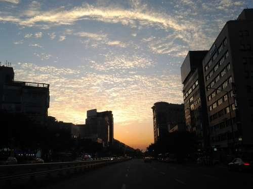 Sky City Glow