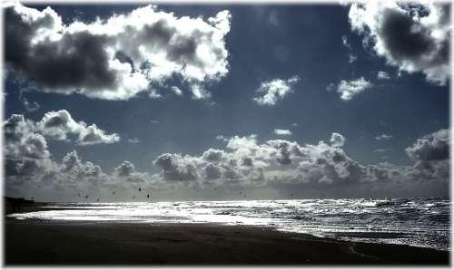 Sky Abendstimmung Romance Blue Clouds Cloud